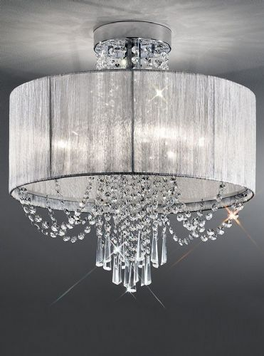 Franklite FL2303/6 Chrome Ceiling Light